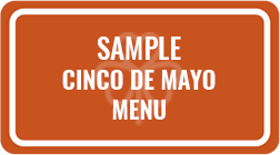 Cinco De Mayo Catering Menu