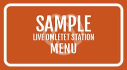 Live Omelet Station Menu PDF Image