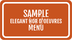 Elegant Hors D' Oeuvres Menu PDF Image