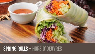 Customer Favorites Spring Rolls