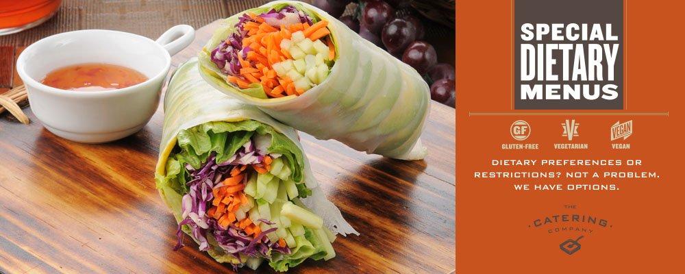 Special Dietary Menus Banner Image