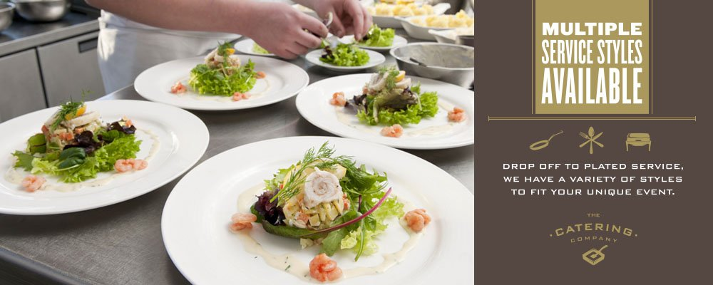 Unique Catering: Multiple Service Style