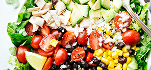Mexican Chopped Chicken Salad: Lunch Menu